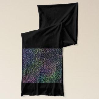 Leopard print scarf wrap