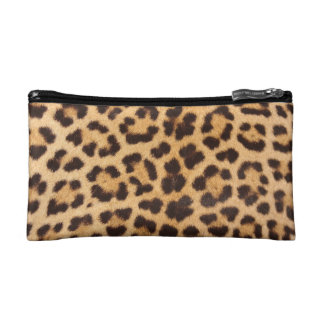 Leopard Printed Cosmetic Bag