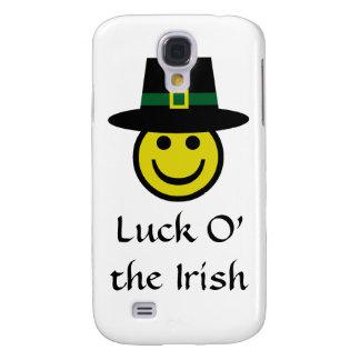Leprechaun Smiley Galaxy S4 Case
