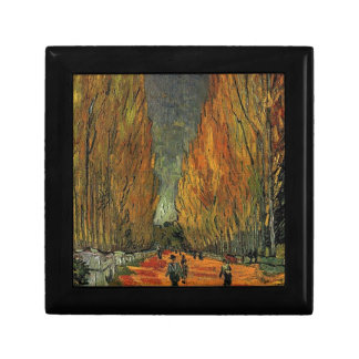 Les Alyscamps by Vincent van Gogh. Fall, autumn Gift Box