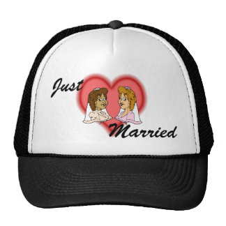 Lesbian Bi-Racial Couple Cap