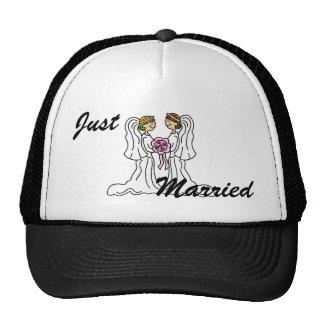 Lesbian Couple Trucker Hat