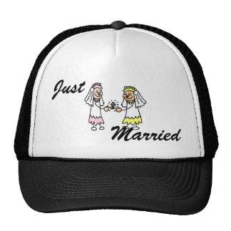 Lesbian Cute Brides Trucker Hat