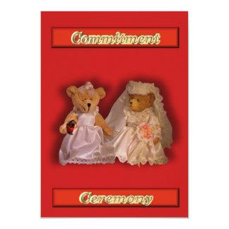 Lesbian Gay Wedding Invitation Commitment Ceremony