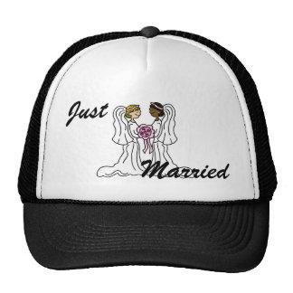 Lesbian Interracial Couple Trucker Hat