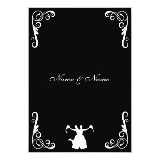 Lesbian Wedding Invitation - Bride and Bride