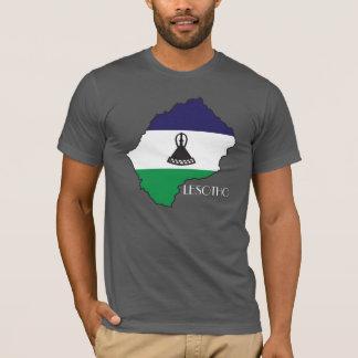 Lesotho Flag-Map Shirt