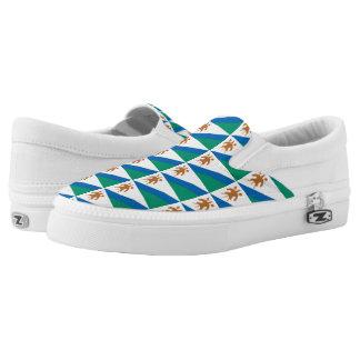 Lesotho Flag -.png Slip On Shoes