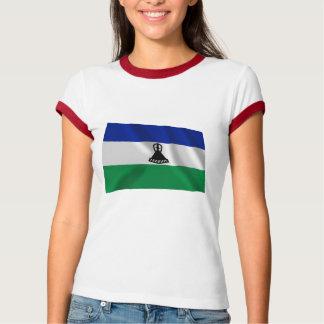 Lesotho Waving Flag T-Shirt