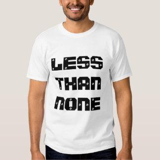 Less Than None Shirt