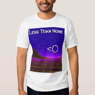 less than none tee shirt