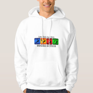 Less Work And More Scuba Diving Hoodie