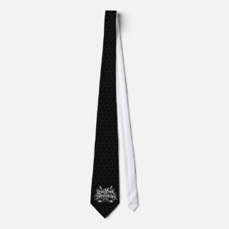 Less Work More Hockey Tie