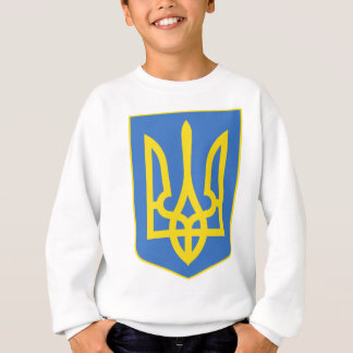Lesser Ukraine Coat of Arms detail Sweatshirt