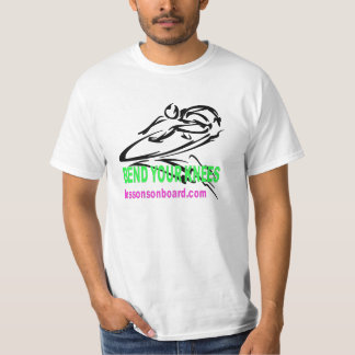 Lessons on Board Bend Your Knees T-Shirt