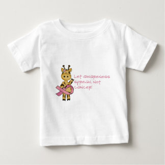 Let awareness spread not cancer baby T-Shirt