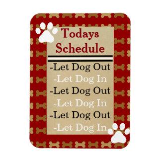 Let Dog Out-Let Dog In Rectangular Photo Magnet