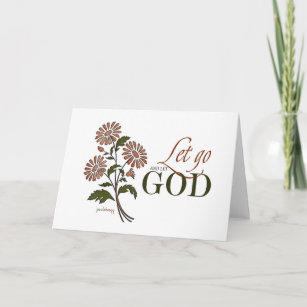 Let Go Let God Cards Zazzle Nz