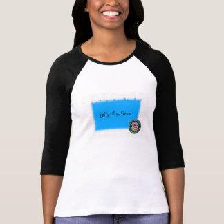 Let It Snow USCG Res T-Shirt