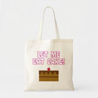 Let Me Eat Cake Tote Bag