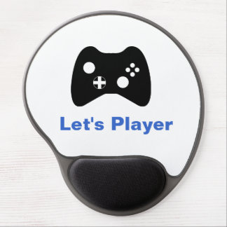 Let s Player Gel Mouse Pads