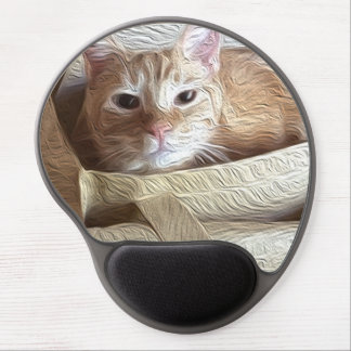 Let the Cat Out of the Bag! Gel Mouse Pad