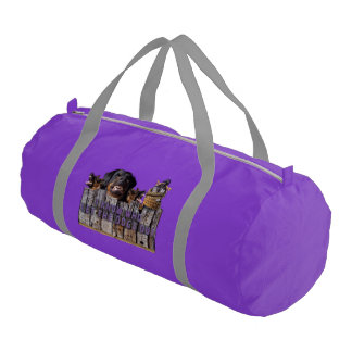 Let the dogs out! gym bag