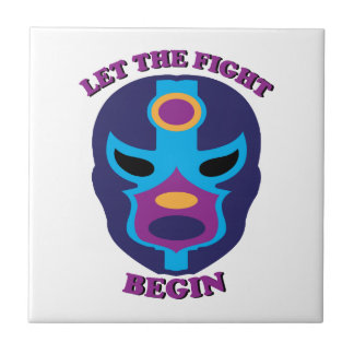 Let the Fight Begin Ceramic Tiles