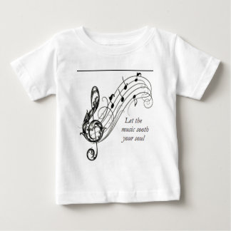 Let the music sooth your soul baby T-Shirt