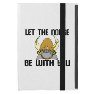 Let The Norse Be With You Cover For iPad Mini
