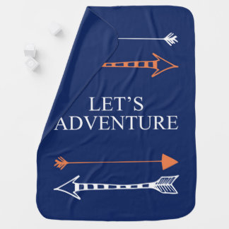 Let's Adventure 01 Baby Blanket