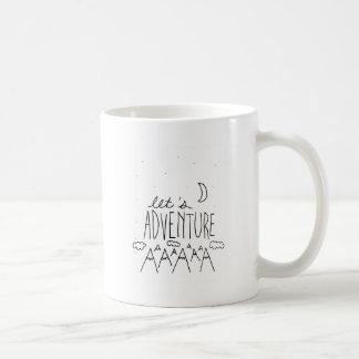Let's Adventure-01 Coffee Mug