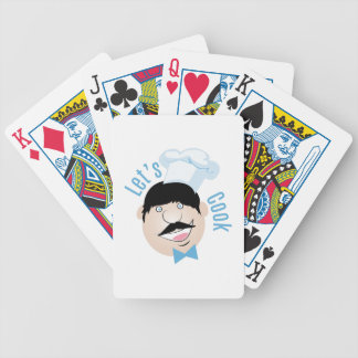 Lets Cook Bicycle Playing Cards