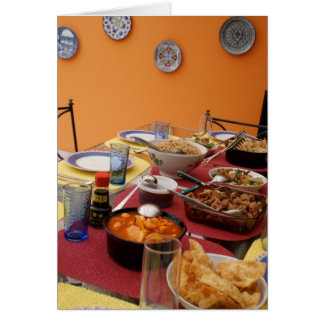 Let's Feast Greeting Card