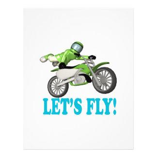 Lets Fly Flyer Design