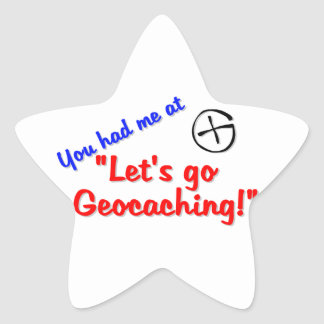 Let's Geocache Star Stickers