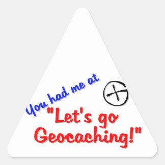 Let's Geocache Sticker