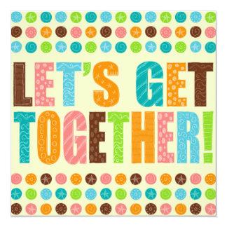 Let's Get Together! Card
