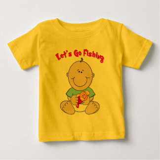 Let's Go Fishing (Boy) Baby T-Shirt