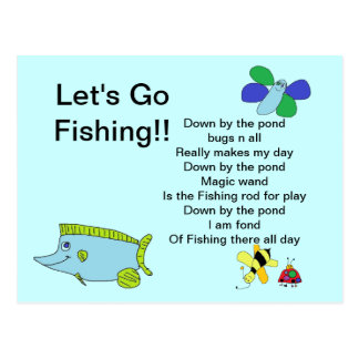 Letting go poem gifts t shirts art posters other for Gone fishing poem