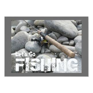 Let's Go Fishing! Company Fishing Trip Invitation