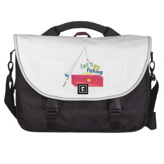 Lets Go Fishing Bags For Laptop
