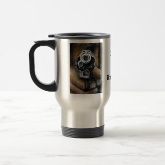Lets go Hunting 15 Oz Stainless Steel Travel Mug