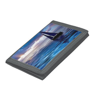 Let's Go Sailing Trifold Wallet