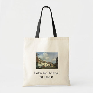 Let's Go To the SHOPS! Tote Bag