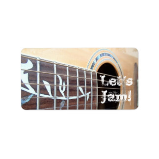 Let's Jam! Stickers