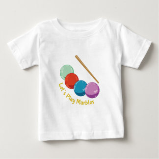 Let's Play Marbles Tees