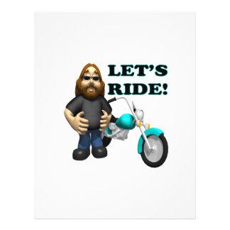 Lets Ride 2 21.5 Cm X 28 Cm Flyer