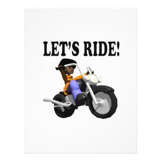 Lets Ride 3 21.5 Cm X 28 Cm Flyer