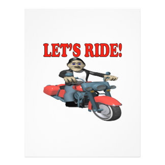 Lets Ride 4 Flyers